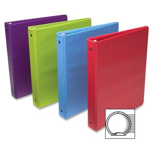"Wilson Jones Standard Round Ring Binder - Letter - 8.5"" x 11"" - 2"" Capacity - 1 Each - Assorted"