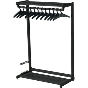 Two-Shelf Garment Rack