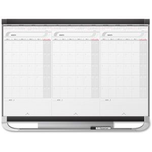 Erasable 3 Months Modular Wall Calendar