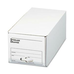 White Storage Drawer