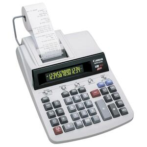 "Canon Heavy-Duty 14-Digit 2-Color Print Calculator - 14 Character(s) - Power Adapter, AC Supply Powered - 2.93"" x 8.5"" x 12.25"""