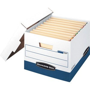 Bankers Box Stor/File End Tab - Letter/Legal FEL00709