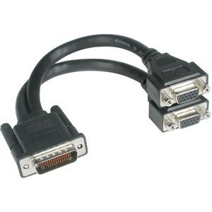 C2G 9IN ONE LFH-59 2XHD15 M/F TWO HD15 VGA FEMALE CABLE