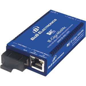 IMC Giga-MiniMc Twisted Pair to Fiber Media Converter