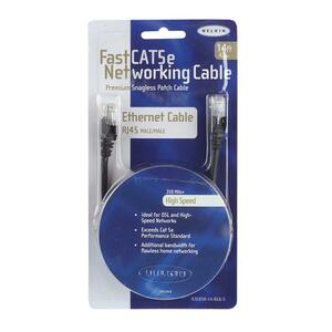 Belkin FastCAT Cat.5e Cable BLKA3L85014BKS