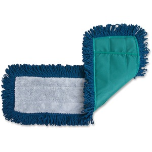 Green. Blue. Dust Mop