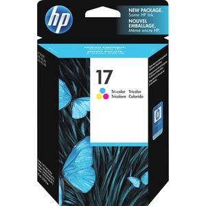 HP 17 Tri-color Original Ink Cartridge HEWC6625A
