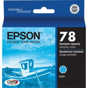 Epson Cyan Ink Cartridge EPST078220