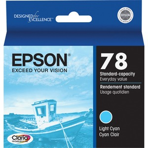 Epson Light Cyan Ink Cartridge EPST078520