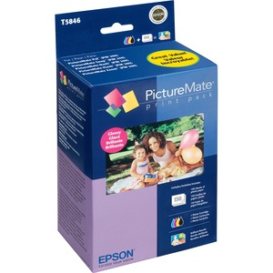 EPSON - SUPPLIES PICTUREMATE PAL/SNAP/FLASH PRINT PACK GLOSSY 150 SHEETS