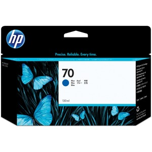 HP 70 Blue Ink Cartridge HEWC9458A