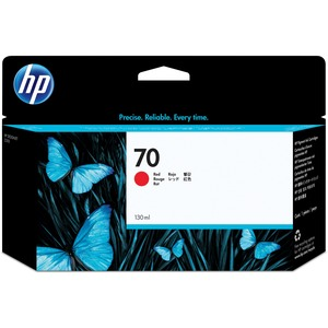 HP INC. - WIDE FORMAT INK 70 RED 130 ML INK CARTRIDGE