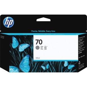 HP INC. - WIDE FORMAT INK 70 GRAY 130 ML INK CARTRIDGE