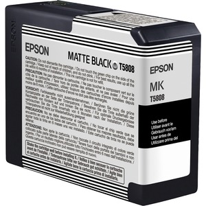 Epson UltraChrome K3 Matte Black Ink Cartridge EPST580800