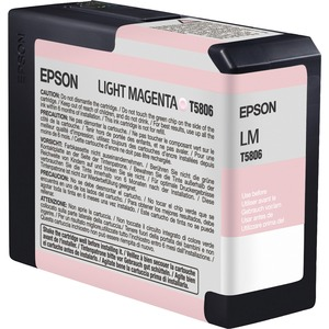 Epson UltraChrome K3 Light Magenta Ink Cartridge EPST580600