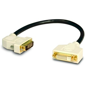 DVI DUAL LINK 45 DEGREE LEFT EXTENSION CABLE DVI-D M/F