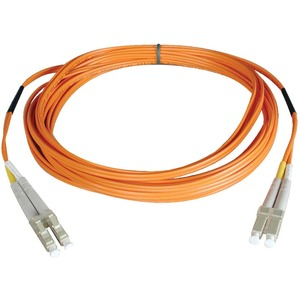 2M FIBER OPTIC LC/LC 62.5/125 PATCH CABLE DUPLEX MMF
