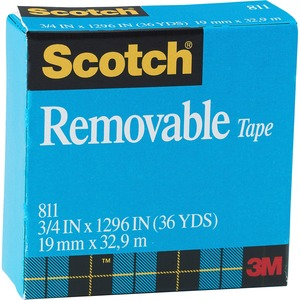 Scotch Removable Paper Tape MMM811341296