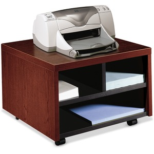 HON 105679N Mobile Printer/Fax Cart - Mahogany