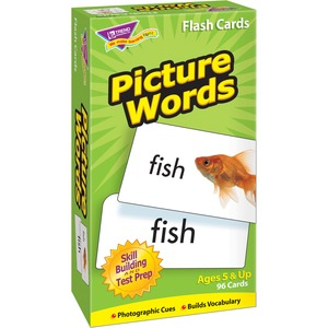 Trend Picture Words Flash Cards