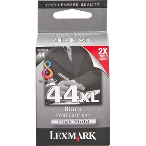 Lexmark No. 44 Return Program Black Ink Cartridge LEX18Y0144