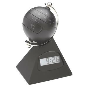 Special Flyer Globe Desk Clock Radio Alarm - FM