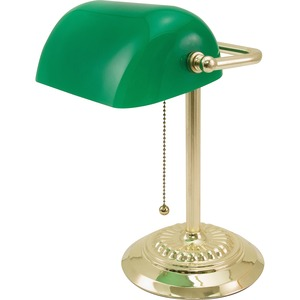Ledu Traditional Bankers Lamp LEDL557BR