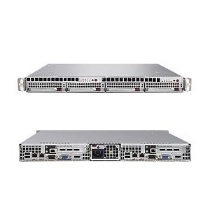 Supermicro SuperServer 6015T-TB (Barebone) INTEL 5000P CHIPSET 2 Quad-Core/Dual-Core Intel Xeon, 8 FB-DIMM DDR2 533/667MHz slots, Dual GigaLan, Hot-Swap SATA X2, DVD-Rom, No HDD, No RAM, 980W PSU