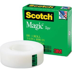Scotch Magic Invisible Tape MMM8101K
