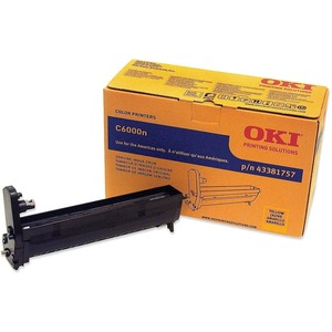 Oki Yellow Image Drum For C6000n and C6000dn Printers OKI43381757