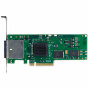 LSI SAS3801E Kit 8 Port External SAS/SATA Controller Card Low Profile PCI-E8