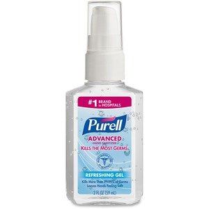 Gojo PURELL Personal Pump Instant Hand Sanitizer - 2fl oz - Pump Bottle Dispenser - Moisturizing - 1 Each