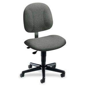 "HON Every-Day 7903 Operator Chair - Black Frame25"" x 29"" x 41.5"" - Foam Black Seat"