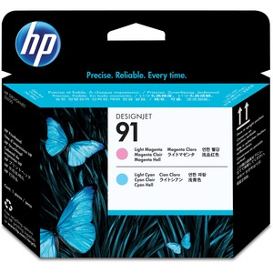 HP 91 Light Magenta and Light Cyan Printhead HEWC9462A