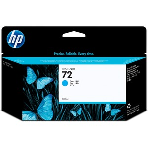 HP 72 Cyan Ink Cartridge HEWC9371A