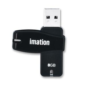 Imation 8GB Swivel USB 2.0 Flash Drive IMN26654
