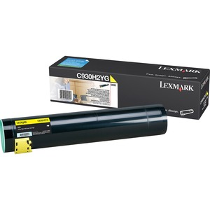 Lexmark High Yield Yellow Toner Cartridge LEXC930H2YG