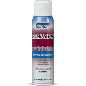 ITW Dymon ELIMINATOR Carpet Spot & Stain Remover - Aerosol - 20fl oz - Red