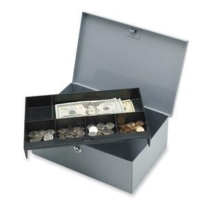 All-Steel 6 Compartment Tray Cash Box