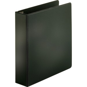 "Sparco Slant-D Locking Ring Binder - Letter - 8.5"" x 11"" - 2"" Capacity - 1 Each - Black"