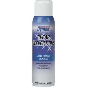ITW Dymon Clear Reflections Glass Cleaner - Aerosol - 20fl oz