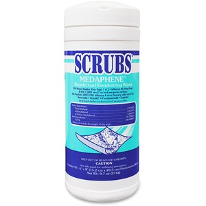ITW Dymon SCRUBS Disinfecting/Deodorizing Wipes - Wipe