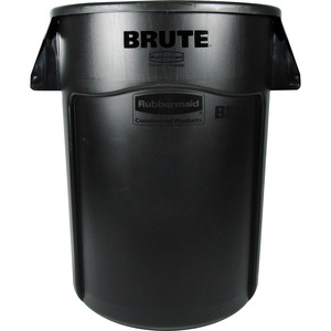 Rubbermaid BRUTE 44-Gallon Waste Container RCP264360BK