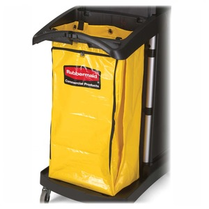 "Rubbermaid High Capacity Replacement Bag - Trash Bag - 34 gal - 17.5"" x 10.5"" x 33"" - Vinyl - 1 Each - Yellow"