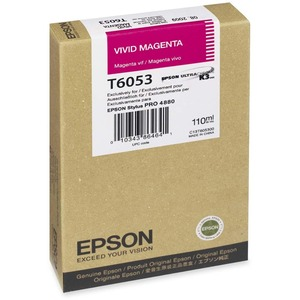 Epson Vivid Magenta Ink Cartridge EPST605300