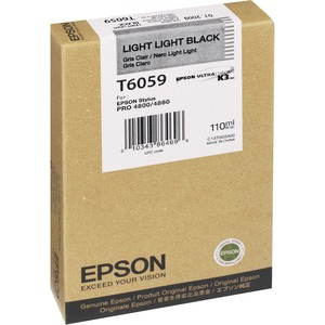 Epson Light Light Black Ink Cartridge EPST605900