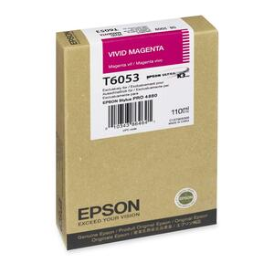 Epson Ultrachrome K3 Magenta Ink Cartridge EPST605B00