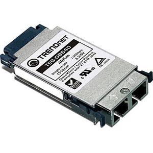 TRENDnet TEG-GBS40 GBIC Single Mode SC Module for Distances Up to 40KM