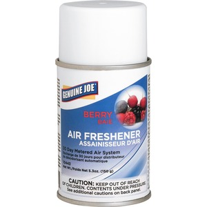 Genuine Joe Metered Air Freshener - Aerosol - Berry - 30 Day