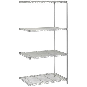 Safco 5289GR Add-On Wire Shelving SAF5289GR